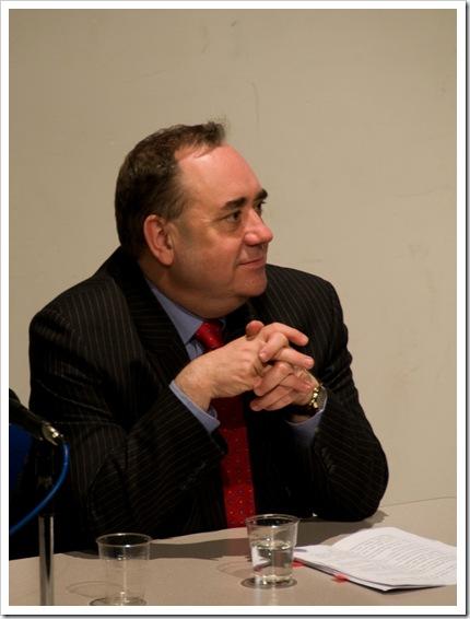 A Pensive Mr Salmond